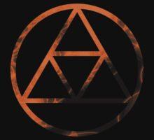 Triforce Design Orange (Spirit Edition) by Hunter-Blaze