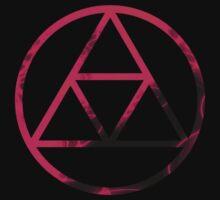 Triforce Design Pink (Love Edition) by Hunter-Blaze