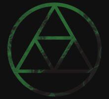 Triforce Design Green (Forest Edition) by Hunter-Blaze