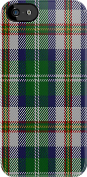 02156 Vermont Dress District Tartan Fabric Print Iphone Case by Detnecs2013
