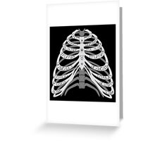 The Bones of a Winchester Greeting Card