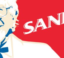 Bernie Sanders 2016 - The Colonel! Sticker