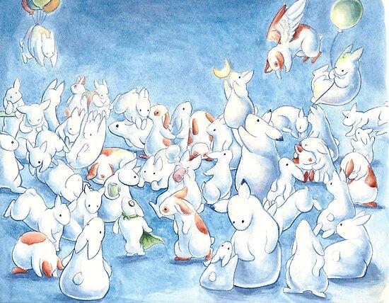Bunny Herd by Ashley Dadoun