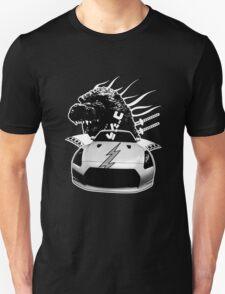 B&W ONLY - GOJIRA GTR MONSTER TEE T-Shirt