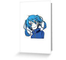 Pixel Ene Greeting Card