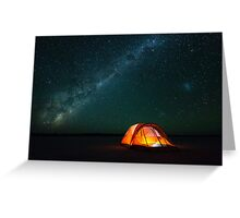 Gone Camping - Great Victoria Desert, Western Australia Greeting Card