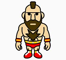 Zangief, the Red Cyclone of Street Fighter Unisex T-Shirt