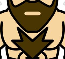 Zangief, the Red Cyclone of Street Fighter Sticker