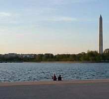 Washington Monument from Jefferson Memorial by ErikBlack
