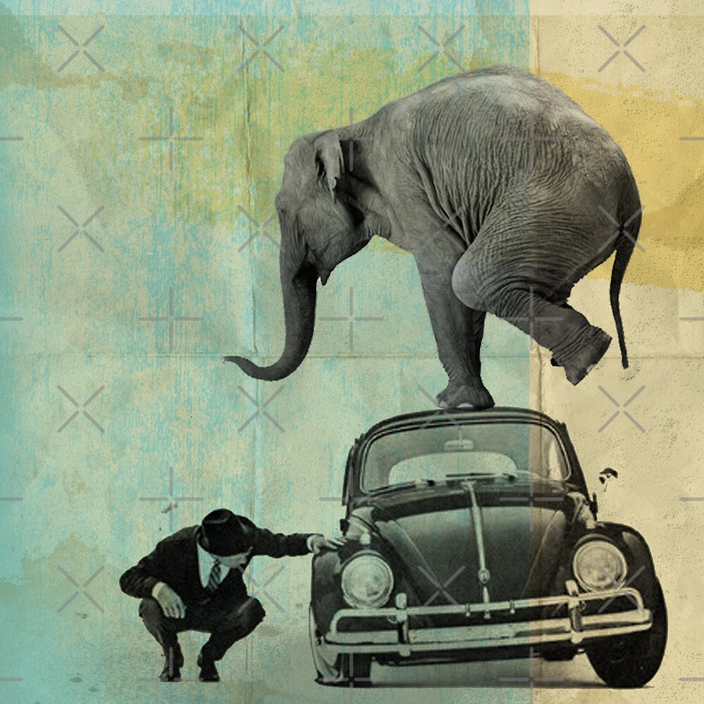 Looking for tiny, elephant on a vw by vinpez