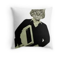 Off to the office, Steven? Throw Pillow