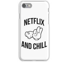 Netflix and chill - hands iPhone Case/Skin