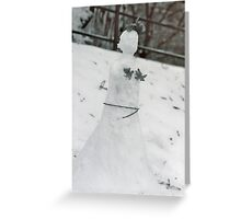 Cold Princess Greeting Card