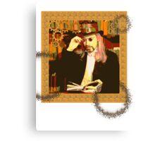 Steampunk Library Canvas Print