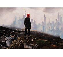 Urban Human Urban Fantasy Art Photographic Print
