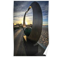 Sculptures by the Sea Poster