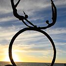Flying Sculpture, Perth WA by Jeddaphoto