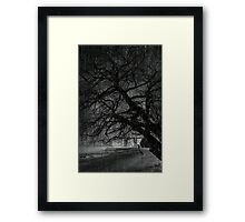Heavy Rain Framed Print