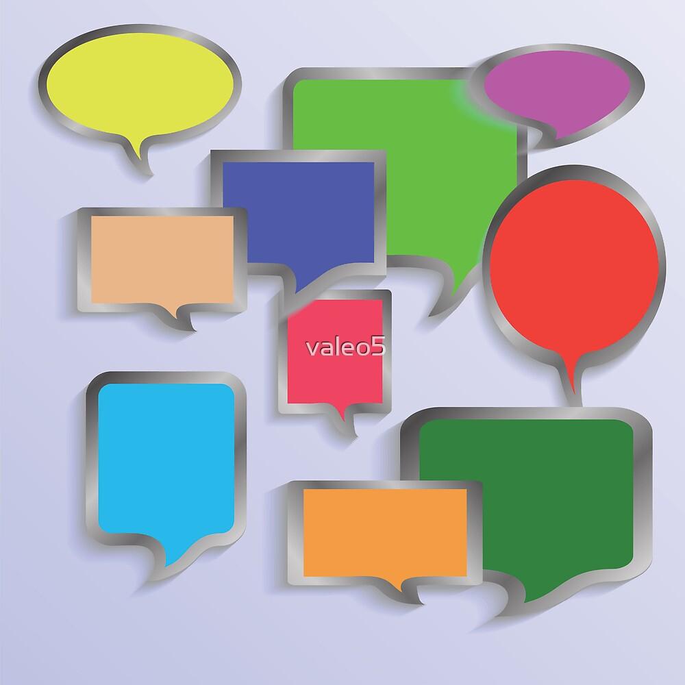 speech bubbles by valeo5