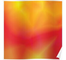 red and yellow abstract  background Poster