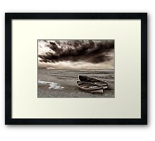 When all the rivers run dry Framed Print