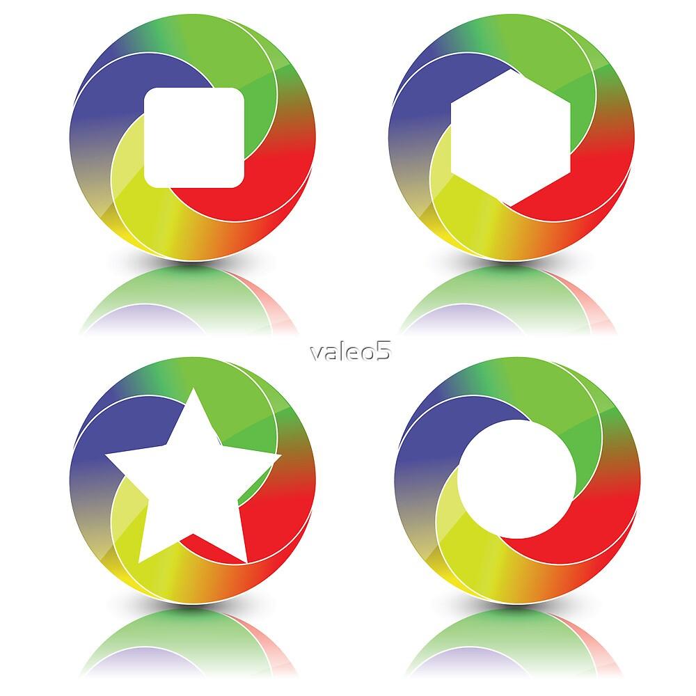 set of icons by valeo5