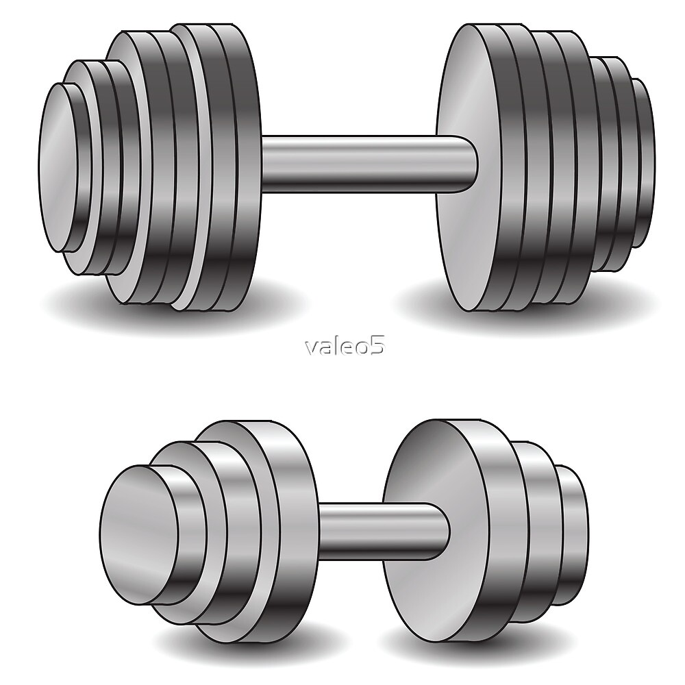 two dumbbells by valeo5
