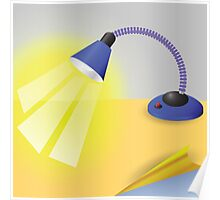 table lamp Poster