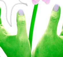 Green Fingers 2 Sticker