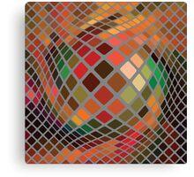 mosaic background Canvas Print