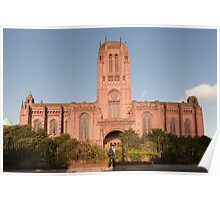 Anglican Cathedral, Liverpool Poster