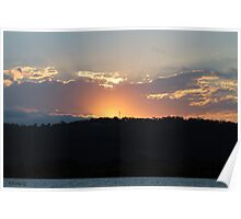 Brisbane Water Sunset  Poster