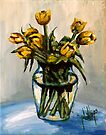 Yellow Tulips by Jim Phillips