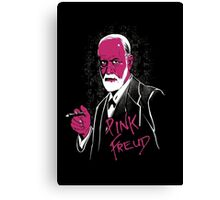 pink freud Canvas Print