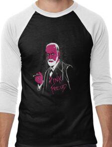 pink freud Men's Baseball ¾ T-Shirt