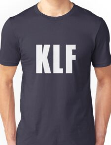 KLF (Letters Only, white) Unisex T-Shirt