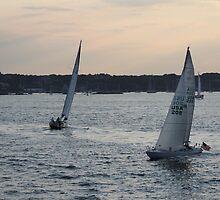 Sunset on Narragansett Bay 3 by reendan