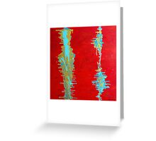 Distress Stains Greeting Card