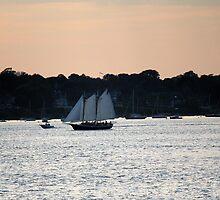 Sunset on Narragansett Bay 6 by reendan