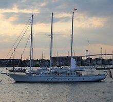Sunset on Narragansett Bay 8 by reendan