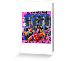 The Ned Kelly Gang (RoCo 6x6) Greeting Card