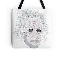 Trippy Einstein Tote Bag