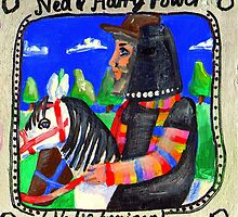 Ned Kelly and Harry Power by Penny Hetherington