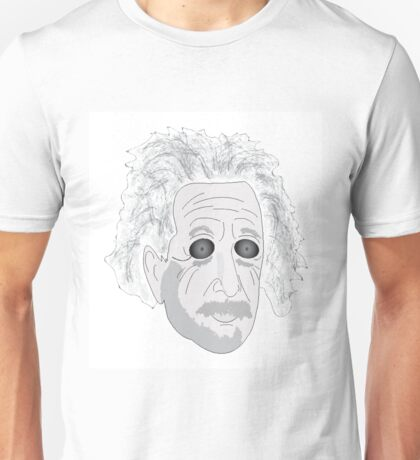 Trippy Einstein Unisex T-Shirt