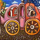 Cinderella in a pumpkin coach by Penny Lewin - Hetherington