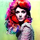 Vivid Colored Hair by FloraDiabla