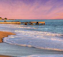 Albufeira Beach by manateevoyager