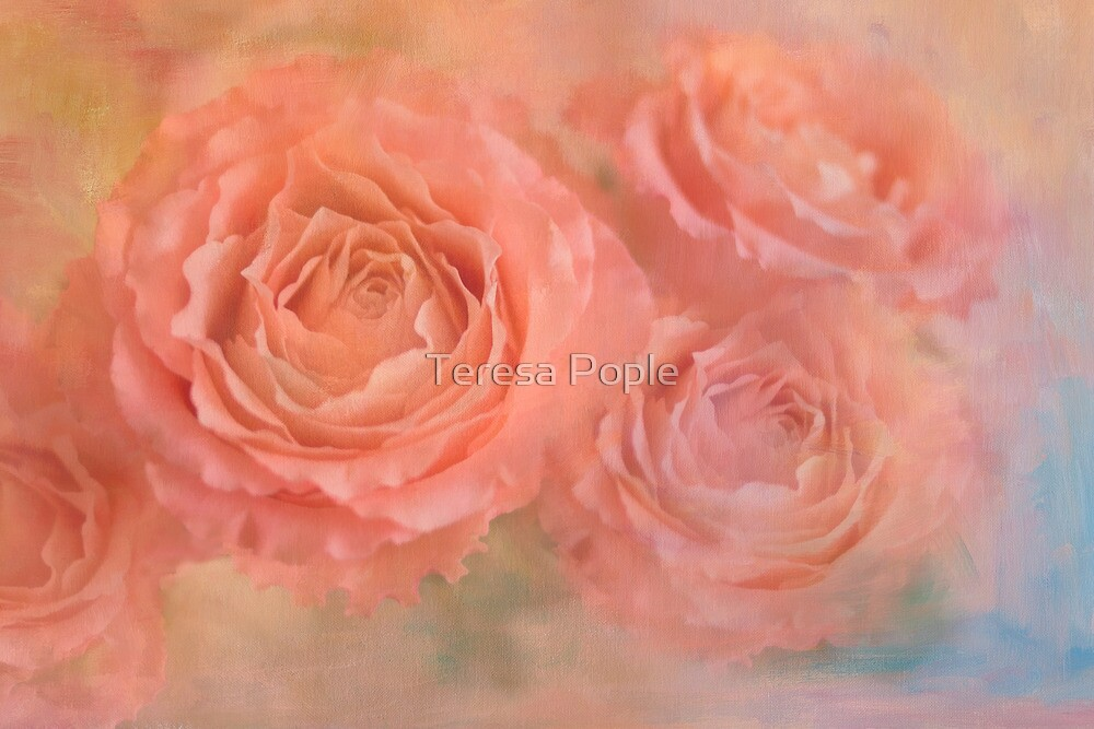 rose confection by Teresa Pople