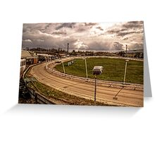 Pelaw Grange Greyhound Stadium Greeting Card