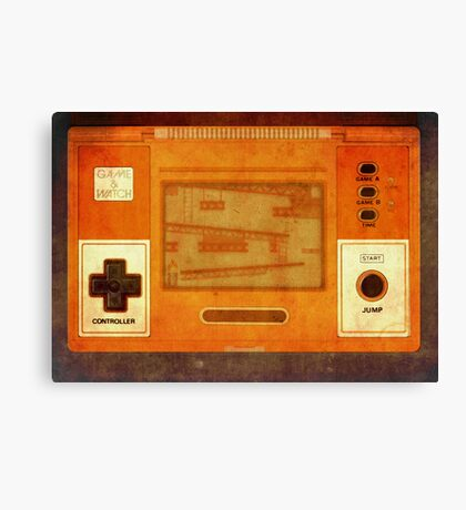 The age of gaming Canvas Print